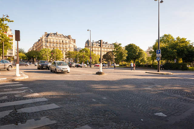 Avenue Foch in Paris