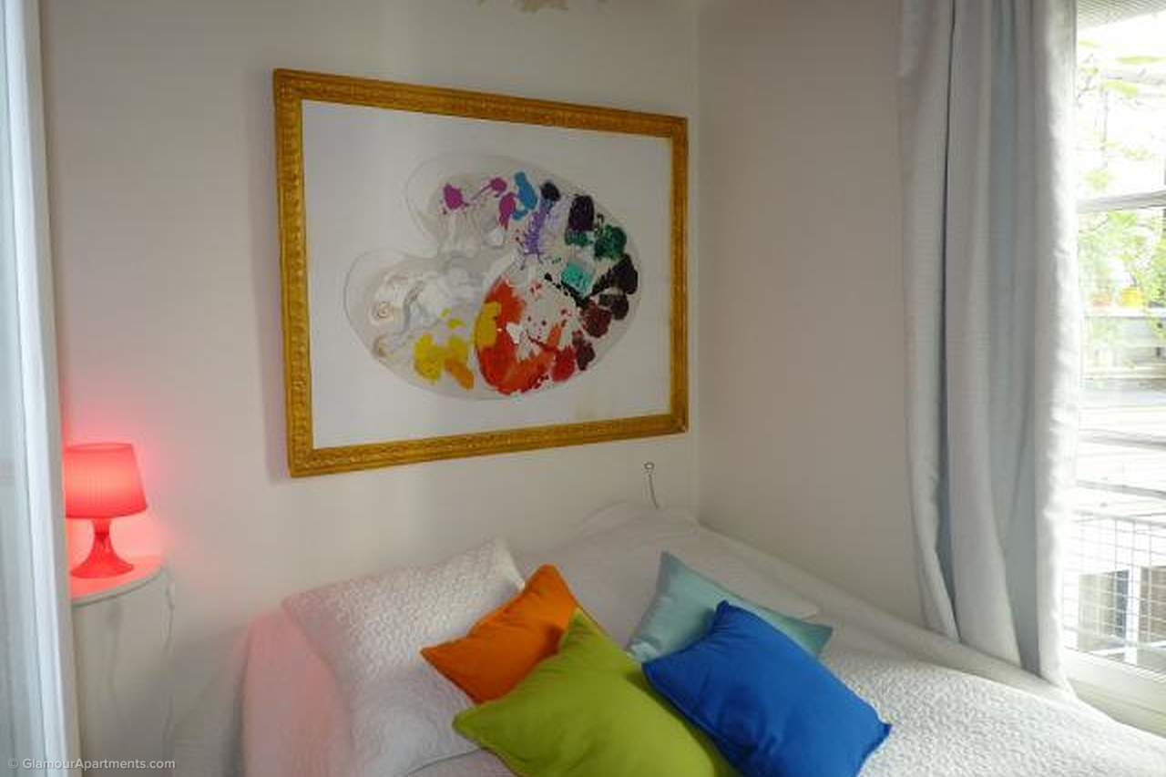 The 1st bedroom